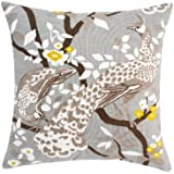DwellStudio Peacock Citrine Pillow Case, 20 by 20-inches