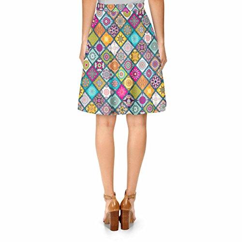Mini Madalas A-Line Skirt Rock XS-3XL