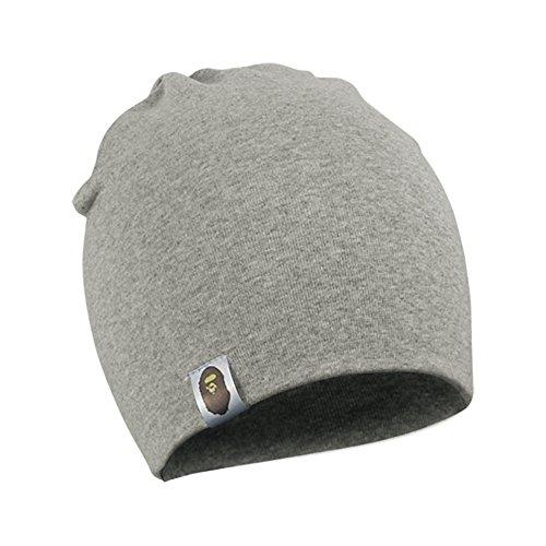 FUNOC Baby Girl Boy Toddler Infant Kids Children Soft Cute Lovely Knit Hat Beanies Cap (Light Gray)