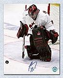 Autograph Authentic PRIC971020 Carey Price Team Canada Autographed World Junior Goalie 8 x 10 in. Photo