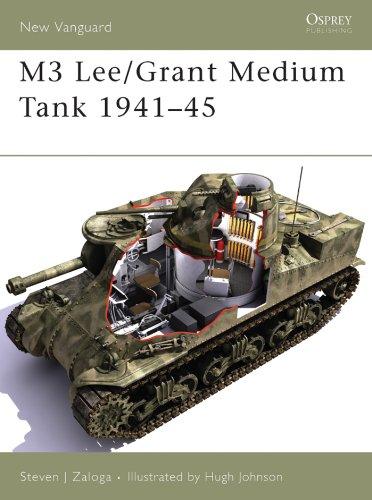 M3 Lee/Grant Medium Tank 1941-45 (New Vanguard Book for sale  Delivered anywhere in USA