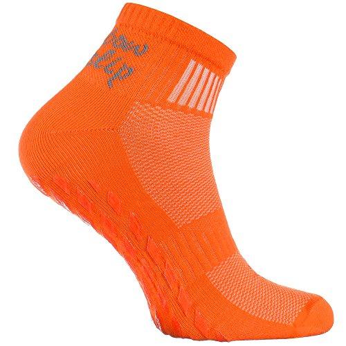 1x Sports Antidérapantes Yoga 1 Coton Ou Idéal Les Orange Paires Trampoline De 6 Tailles Le Arts Respirant Martiaux Danse Abs Colorées Gymnastique Pour 2 Fitness Pilates 4 36 46 Chaussettes OOw6qf8F