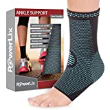 PowerLix Ankle Brace Compression Support Sleeve (Pair...