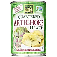 Native Forest Artichoke Hearts, Quartered, 14 Oz