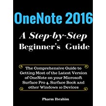 OneNote 2016: A Step-by-Step Beginner's Guide