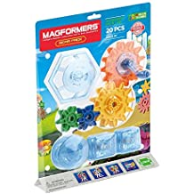 Magformers Gear Accessory (20 Piece) Magnetic    Building      Blocks, Educational  Magnetic    Tiles Kit , Magnetic    Construction  STEM Toy Set