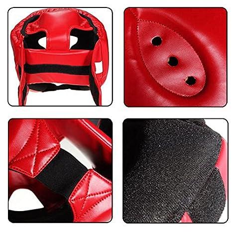 Majome Headgear Head Guard Training Kick Boxing Protector Sparring Gear Face Helmet