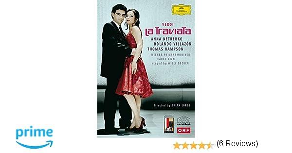 Verdi - La Traviata [Reino Unido] [Blu-ray]: Amazon.es: Anna ...