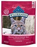 Blue Buffalo Wilderness Grain Free Dry Cat Food, Salmon Recipe, 2-Pound Bag, My Pet Supplies