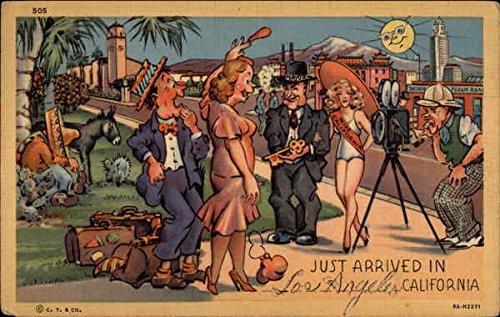 Just arrived in Los Angeles, California Los Angeles Original Vintage - Los Colortone Angeles