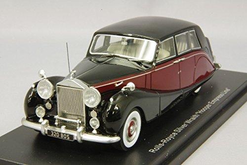 1/43 ロールスロイス シルバー レイス Empress Line by Hooper RHD(ブラック×ダークレッド) 193941