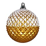 Vickerman 552810-12' Gold Glitter Candy Durian Ball Christmas Tree Ornament (MT180508)