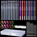 31 Pieces Crochet Hook Resin Molds Crochet Hook