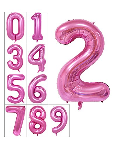 40-inch-numbers-0-9-pink-helium-foil-digital-mylar-balloons-for-birthday-party-number-2