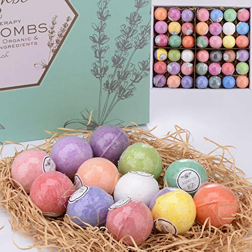 Bulk Bath Bomb Gift Set - 42 Bath Bombs for Kids, Women & Men! Ultra Lush Bath Bombs Perfect Gift Set for Women! by La Bombe (Image #4)