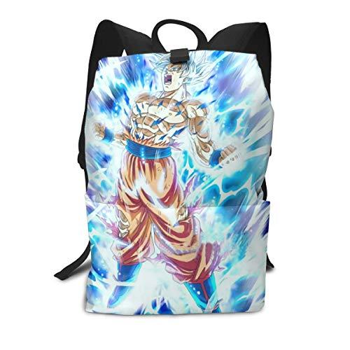 Ultra Instinct Goku Casual Backpack Daypack Laptop Bag School Bag ()