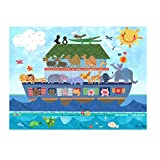 Oopsy Daisy Noah's Ark Canvas Art, 24'' x 18''