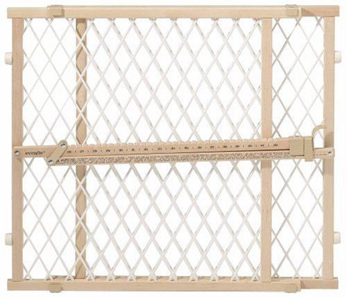 Amazon Com Evenflo Position And Lock Wood Safety Gate