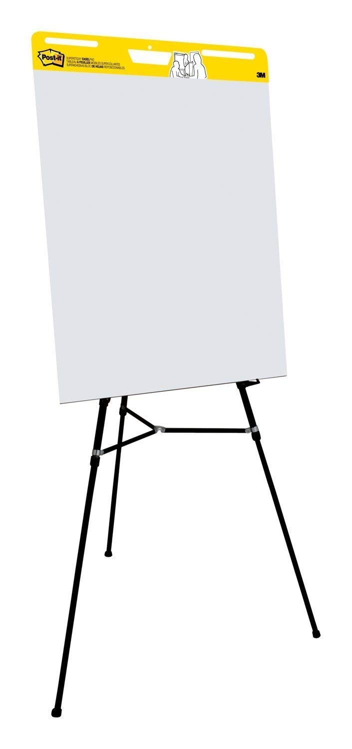 Post-it Super Sticky Easel Pad, 25 x 30 Inches, 30 Sheets/Pad, 1 Pad (559SS), Large White Premium Self Stick Flip Chart Paper, Super Sticking Power (2-(Pack of 4)) by Post-it (Image #3)