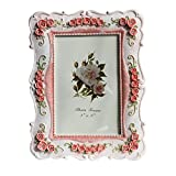 European Style Vintage Picture Frames Rose Pattern 4x6 ''