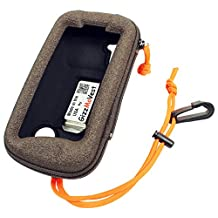 Garmin Monterra CASE COVER made by GizzMoVest LLC. Heavy-Duty in Coffee w/ Belt Clip & Lanyard w/Clip. MADE IN THE USA.