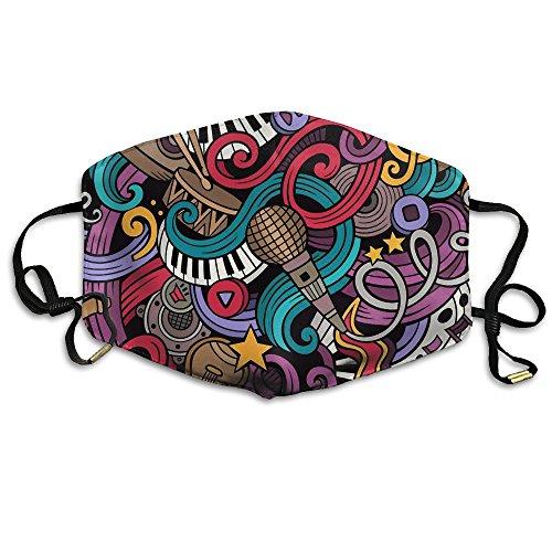 Women&Man Unisex 330751-161025111G9100 Reusable Anti Pollution Mouth-Muffle Masks Mouth Face Masks