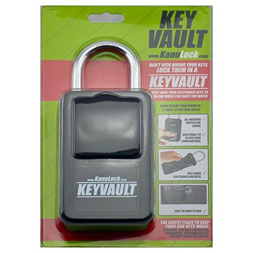KanuLock KeyVault Key Storage Lock Box with Set Your Own Combination