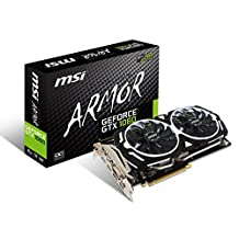 MSI GAMING GeForce GTX 1060 6GB GDDR5 DirectX 12 VR Ready (GeForce GTX 1060 ARMOR 6G OCV1)