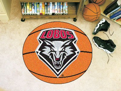 New Mexico Basketball Rug (New Mexico Lobos NCAA
