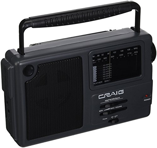 Craig Electronics Port WTHR Band Radio