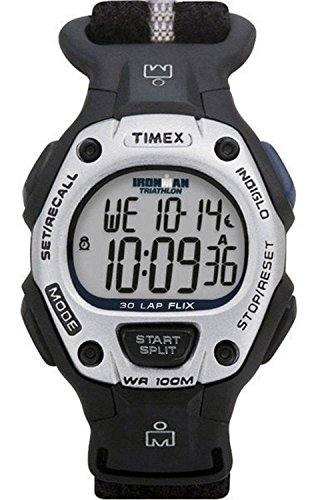 Timex T5G271 Ironman Triathlon Chronograph Women's Sport Digital Watch Nylon Velcro Strap