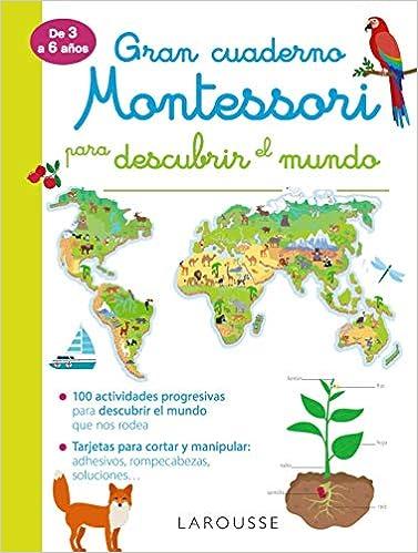 Cuadernos de actividades de verano. Montessori