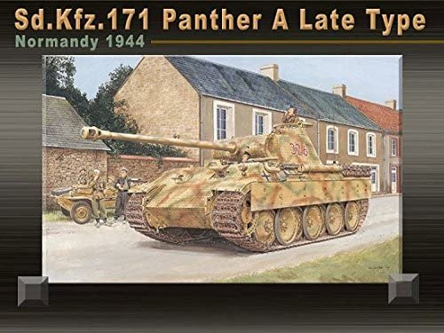 B0006O4FCO Dragon Models 1/35 Sd.Kfz. 171 Panther A Late Type, Normandy 1944 Kit 51nR2Zr6BIL.
