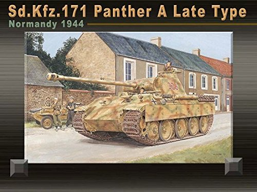 35 Panther Type (Dragon Models 1/35 Sd.Kfz. 171 Panther a Late Type, Normandy 1944 Kit Toy)