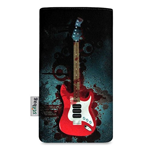 Stilbag Etui 'MIKA' pour Apple iPhone 6 plus - Dessin: Bloody Guitare