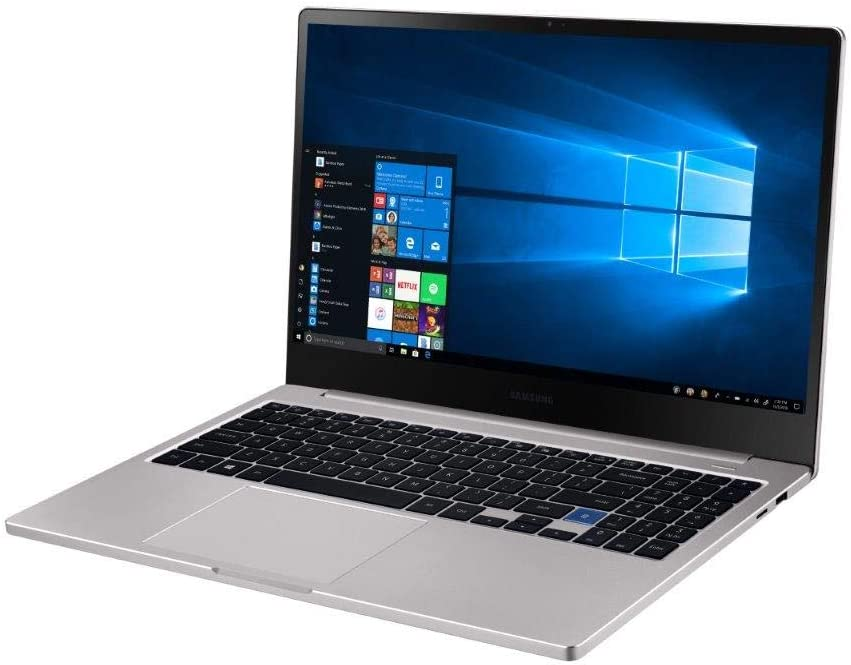 Samsung Notebook 7 NP750XBE-K04US 15.6 Inch Intel Core i5 (8th Gen) 8265U 1.6GHz/ 8GB LPDDR3/ 256GB SSD NVMe/ Windows 10 Pro Notebook(Platinum Titan)
