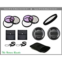 Optics Nature Package For Canon EF-S 18-55mm f/3.5-5.6 II & Canon EF-S 55-250mm f/4-5.6 II