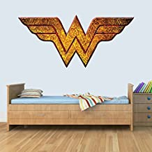 GNG Wonder Woman Childrens Wall Art Decal Vinyl Stickers Picture for Boys/Girls Bedroom L
