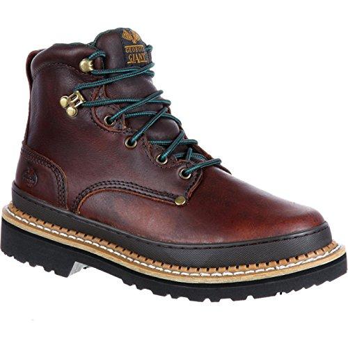(Georgia Men's G6274 Mid Calf Boot, Brown, 10 M US)