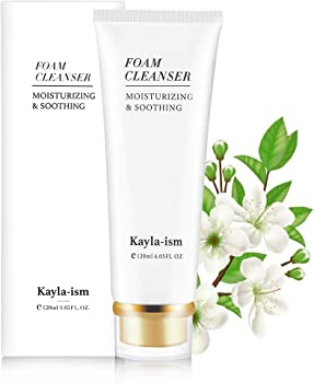 Kayla-Ism Organic & Natural Moisturizing Face Cleanser With Makeup Removal