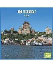 Quebec City Calendar 2022: Official Quebec City Calendar 2022 , 16 Month Calendar