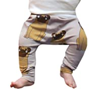 Deloito Boys Trousers, Toddler Baby Boys Girls Kids Cute Cartoon Animal Pants Leggings Clothes Animal Patterns Pinecone Trousers