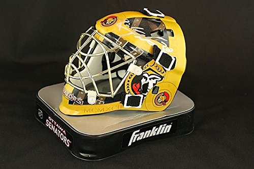 Brian Elliott Signed Goalie Mini Helmet - PSA/DNA Certified Ottawa Senators Signed - NHL Hockey Autographs