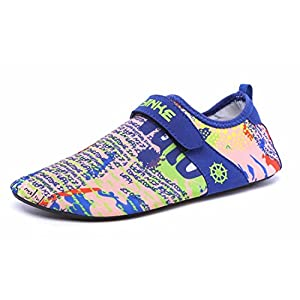 Smapavic Aqua Socks For Men Women Barefoot Quick Dry Water Skin Shoes For Beach Swim Surf Yoga