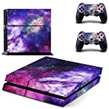 Galaxy Stars Nebula Design Vinyl Skin Decal for Sony PlayStation 4 PS4 Console Sticker Review