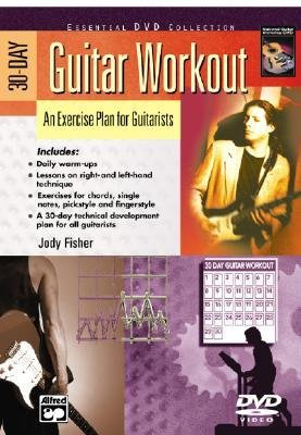 Download [(30-Day Guitar Workout: An Exercise Plan for Guitarists, DVD)] [Author: Jody Fisher] published on (November, 2004) pdf