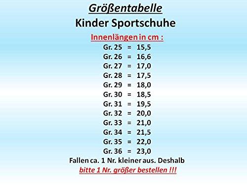 gibra - Zapatillas de sintético/textil para niño neongrün/blau
