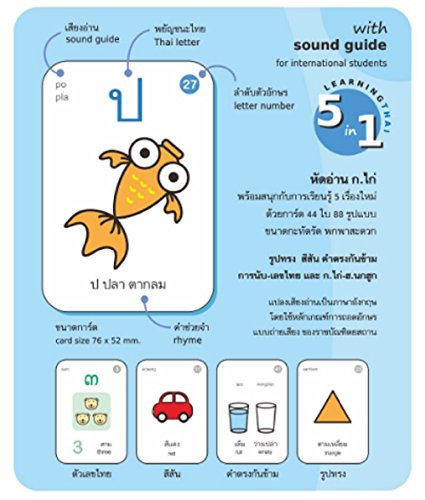 ko-kai-mini-cards-thai-language-education-with-sound-guide-for-international-student
