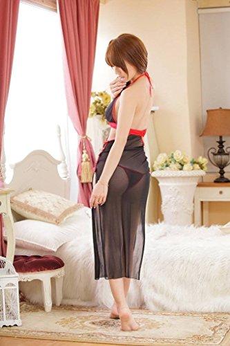 P Body Nightwear Clubwear Lingerie Babydoll Lady Xiang Femmes Noir Party Ru xqSIqzw7