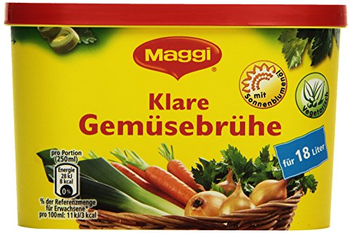 Maggi klare Gemüse Brühe, 6er Pack (6 x 18 l)